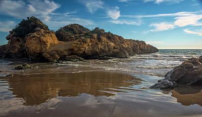 Wall Art - Photograph - Beach At Altafulla Spain by Joan Carroll