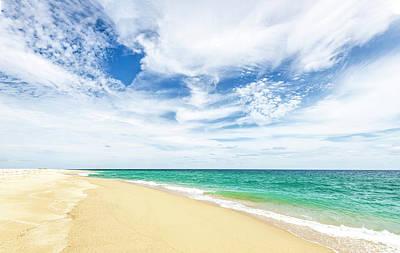 Photograph - Beach At La Ribera by Mark Harrington