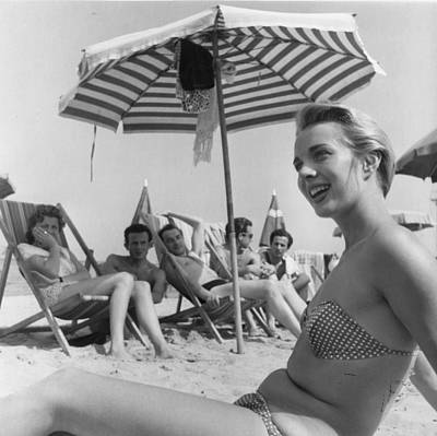 Photograph - Beach Bikini by Bert Hardy