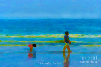 Painting - Beach Blues by Chris Armytage