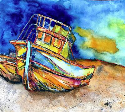 Lego Art - Beach Boat by Glen Garnett