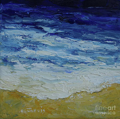 Painting - Beach by Carolyn Jarvis