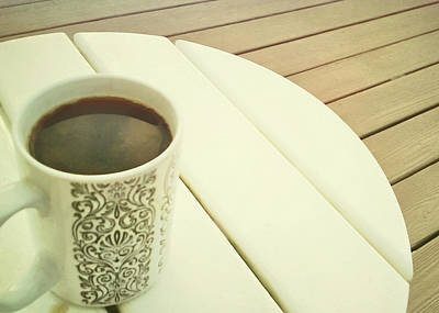 Photograph - Beach Coffeeing by Jamart Photography