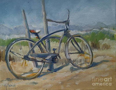 Painting - Beach Cruiser by Mary Hubley