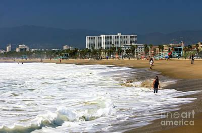 Photograph - Beach Day At Venice Beach by John Rizzuto
