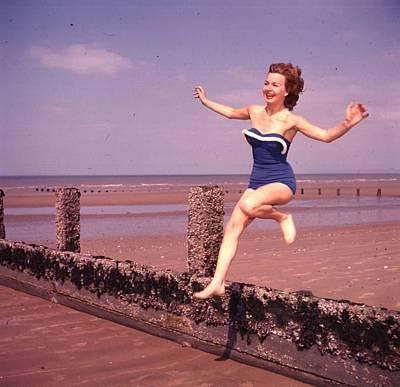 Photograph - Beach Fun by Carl Sutton