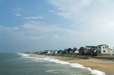 Photograph - Beach Houses by Jpecha