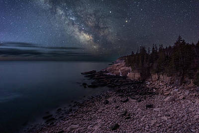 Photograph - Beach Night by Michael Blanchette