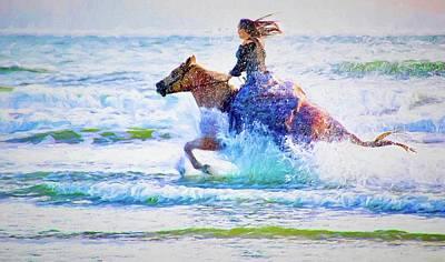 Photograph - Beach Seahorse by Alice Gipson