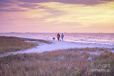 Photograph - Sunrise Stroll On The Beach by Susan Rydberg