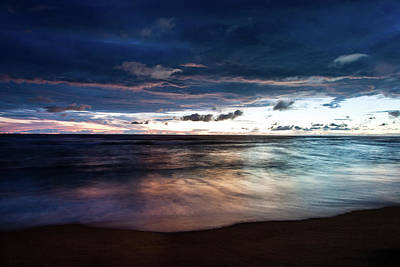 Landscape Photograph - Beach Sunset by Mshep2