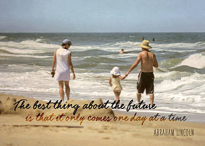 Photograph - Beach Thought Quote by JAMART Photography
