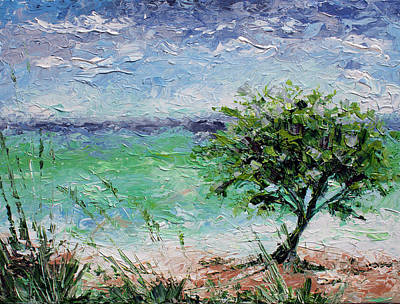 Painting - Beach Tree by William Love