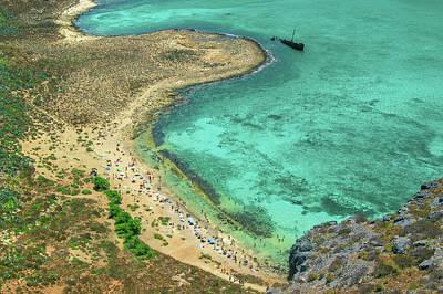 Photograph - Beach View Of Imeri Gramvousa by Sun Travels