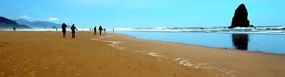 Photograph - Beach Walk Wide by Jerry Sodorff