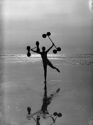 Photograph - Beach Weights by Chaloner Woods