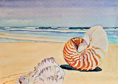 Painting - Beachcomber by Sonja Jones