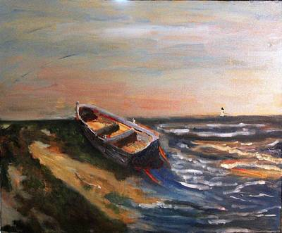 Painting - Beached by Michael Helfen