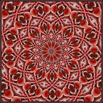 Digital Art - Beaded Treasure Tile K12-1 by Doug Morgan