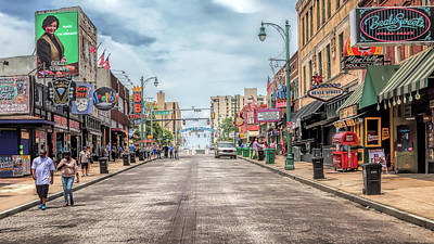 Photograph - Beale Street by Susan Rissi Tregoning