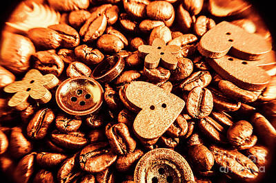 Food And Beverage Royalty-Free and Rights-Managed Images - Beans and buttons by Jorgo Photography - Wall Art Gallery