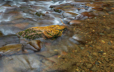 Photograph - Bear Creek Closeup Long Exposure by Keith Smith