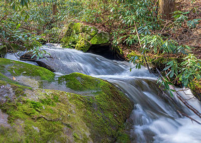 Photograph - Bear Creek Waterfall Long Exposure by Keith Smith