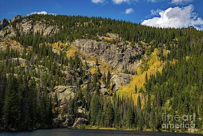 Photograph - Bear Lake Gold by Jon Burch Photography