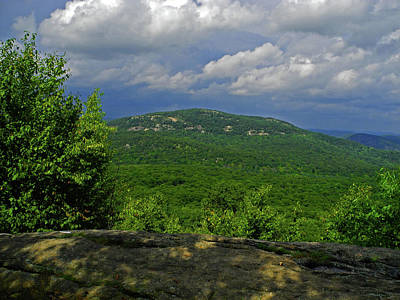 Photograph - Bear Mountain From The At by Raymond Salani III