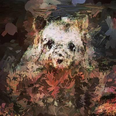 Digital Art - Bear/Pig No. 1 by Matthew Daigle