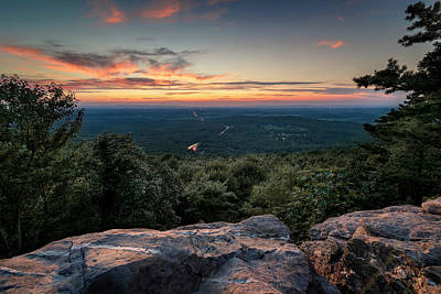 Photograph - Bears Den Sunset by Ryan Wyckoff