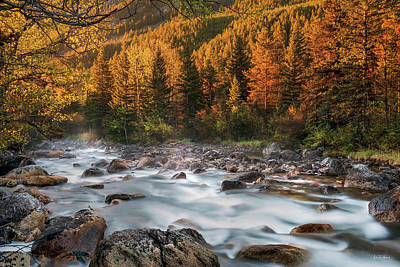 Photograph - Beartooth Mountains Sunrise by Leland D Howard