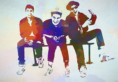 Painting - Beastie Boys by Dan Sproul