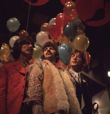 Photograph - Beatles And Balloons by John Williams