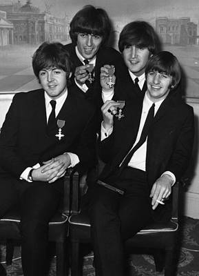 Photograph - Beatles And Mbes by Keystone