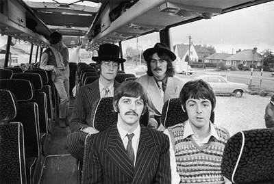 Photograph - Beatles Bussing It by Potter