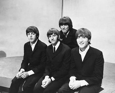 Photograph - Beatles On Tv by Express