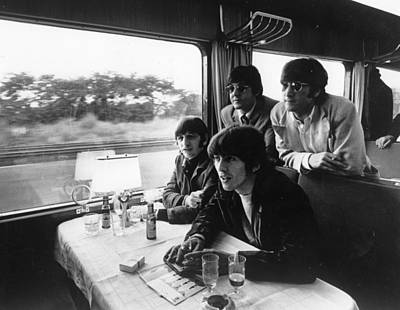 Photograph - Beatles Train Tour by Keystone Features