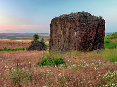 Photograph - Beaty Butte Stillness by Leland D Howard