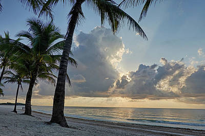 Photograph - Beautiful Akumal Sunrise Akumal Mexico Mx by Toby McGuire