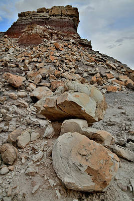 Photograph - Beautiful Boulder Field In San Rafael Desert by Ray Mathis