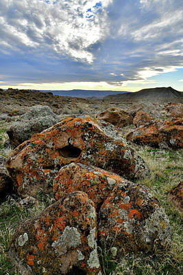 Photograph - Beautiful Boulders Beneath Beautiful Clouds by Ray Mathis