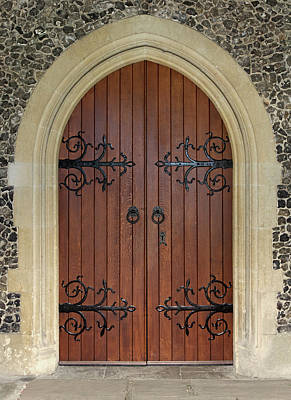 Photograph - Beautiful Church Door by Phototropic