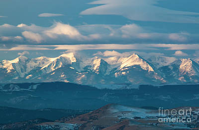 Photograph - Beautiful Clouds On The Sangre by Steve Krull