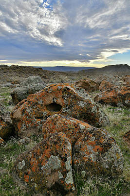 Photograph - Beautiful Clouds Over Beautiful Boulders by Ray Mathis