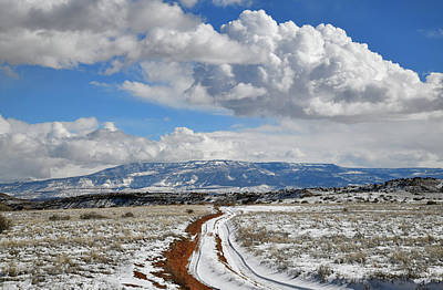 Photograph - Beautiful Clouds Over Grand Mesa In Grand Junction Colorado by Ray Mathis