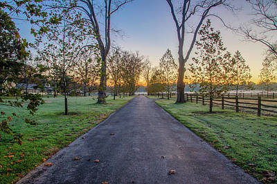 Photograph - Beautiful Dawn In Whitemarsh by Bill Cannon