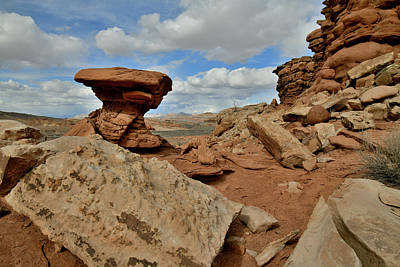 Photograph - Beautiful Day Along San Rafael Swell In Utah by Ray Mathis
