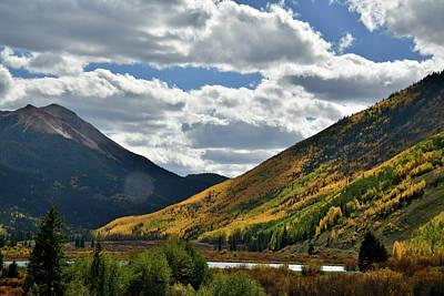 Photograph - Beautiful Fall Day At Crystal Lake by Ray Mathis