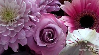 Photograph - Beautiful Flowers In Pink by Joan-Violet Stretch